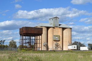 Quandialla Silos and Railway Water Tower