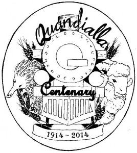 Quandialla_Centenary_Logo