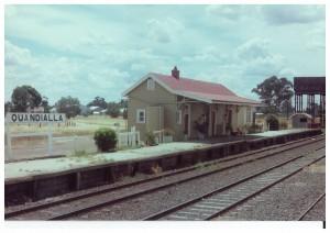 Quandialla Railway Station - 1975