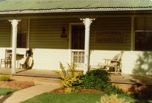 Local residence in Quandialla.  Used as the Bindogundra Hospital in the filming of '1915'.