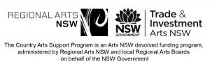 Arts out West Logo